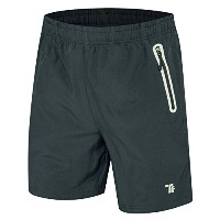 "tbmpoyメンズ7 "" Running Shorts Reflective Quick Dry Shorts withジッパーポケット M"