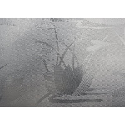 Hosho Water Lilyガラス装飾Frostedウィンドウフィルム3 ft x 16 ft