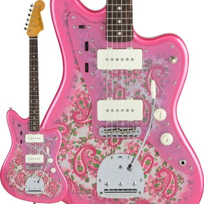 Fender Made in Japan Traditional 60s Jazzmaster (Pink Paisley) [Made in Japan] 【ikbp5】