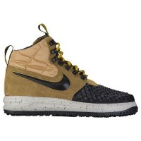 (取寄)Nike ナイキ メンズ ルナ フォース 1 ダックブーツ Nike Men's Lunar Force 1 Duckboots Metallic Gold Black Light Bone