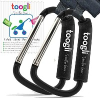 XL Stroller Hook for Mommy By Toogli . Perfect Stroller Accessories for Hanging Diaper Bags, Purses...