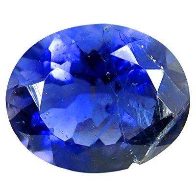 アイオライト ルーズジェームズ 2.34 ct PGTL 認定 AAA Grade Oval Cut (11 x 9 mm) Un-Heated Blue Iolite Loose Gemstone