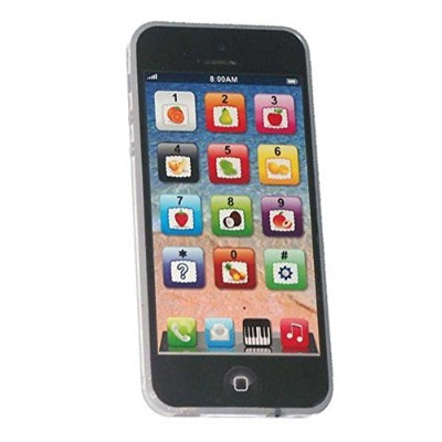CooplayブラックYPhone y-phone Toy Play音楽携帯電話携帯電話携帯with USB Recharableケーブルfor Baby Kidsのセット1