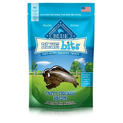 Blue Buffalo Chicken Bits Dog Treats, 4-Ounce by Blue Buffalo