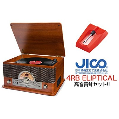 ION SUPERIOR LP +高音質交換針 JICO 4RB ELIPTICAL