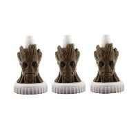good2grow spill-proofボトルトッパー3- Pack , Guardians of the galaxy- Groot