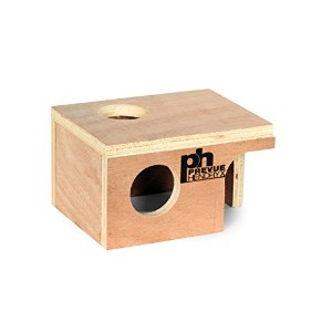 Prevue Pet Products SPV1120 Wooden Hideout Mouse Hut by Prevue Pet Products