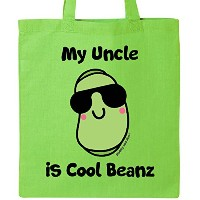 Inktastic Cool Beans Uncleトートバッグby毛羽and Jim One Size