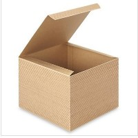 8 in. X 8 in. X 6in. Kraft Gift Boxes - Pack of 5 Brown Color by A1BakerySupplies