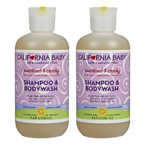 California Baby Shampoo & Body Wash - Overtired & Cranky - 8.5 oz. (Pack of 2) by California Baby