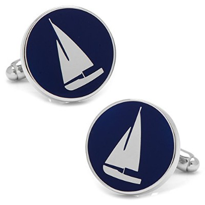 Cufflinks , Inc。Sailboat Cufflinks