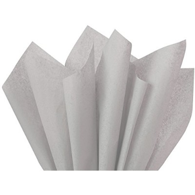 Gray Tissue Paper 20 X 30 - 48 Sheet Pack by Premium Tissue Paper