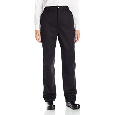 Uncommon Threads 4020-0104 Executive Chef Pant in Black - Large