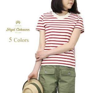 NIGEL CABOURN WOMAN ナイジェル・ケーボン ウーマン SAILOR T-SHIRT 5 COLORS MAIN LINE