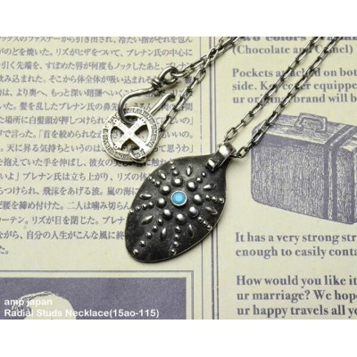 [ amp japan ] ラディアルスタッズネックレス/ Radial Studs Necklace(15ao-115)