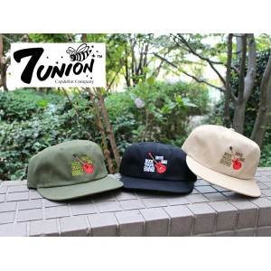 【あす楽対応】【全3色】7ユニオン 【ROCK,BEER,BBQ STRAPBACK】 7UNION[18_3_5SU18_4_1 variation]