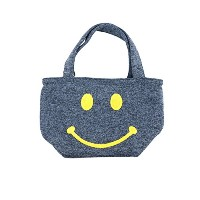 (ラスティ) RUSTY トートバッグ 957906 SMILE KNIT FLEECE MINI TOTE BAG NVY