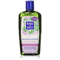 海外直送品Kiss My Face Bath & Shower Gel Peaceful Patchouli, 16 Oz