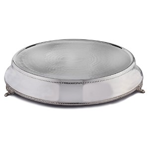 Elegance Round Cake Stand with 18-Inch Top, 22-Inch Base by Elegance