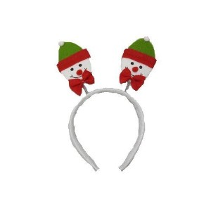 Christmas House Springy Snowman Christmas Headband 9 In. - 1/pkg. by Christmas House