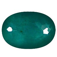 Grandidierite ルーズジェームズ 0.92 ct Oval Cut (7 x 5 mm) Unheated / Untreated Greenish Blue Grandidierite...