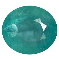 Grandidierite ルーズジェームズ 0.99 ct Oval Cut (7 x 6 mm) Unheated / Untreated Greenish Blue Grandidierite...