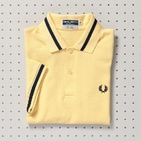 【MP STORE エムピー ストア】 【ユニセックス】【FRED PERRY】M-2シャツ イエロー レディース