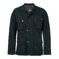 Barbour military style jacket - ブルー