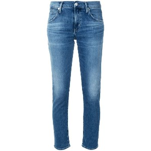 Citizens Of Humanity Elsa cropped skinny jeans - ブルー