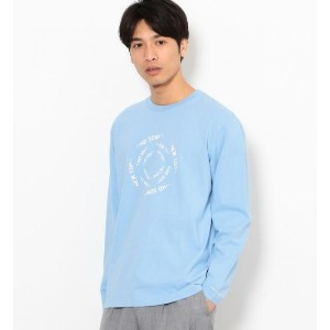 SC AND-RIDE プリント クルーネック カットソーIII【グリーンレーベルリラクシング/green label relaxing メンズ Tシャツ・カットソー LT.BLUE ルミネ...