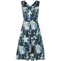 'S Max Mara printed sleeveless dress - ブルー