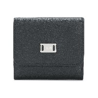 Tod's logo plaque wallet - ブラック