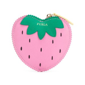 Furla strawberry coin purse - ピンク