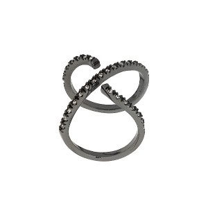 Federica Tosi Cross ring - メタリック
