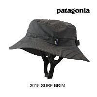 2018 PATAGONIA パタゴニア 帽子 ハット SURF BRIM FGE FORGE GREY