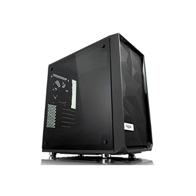 Fractal Design Meshify Mini C Tempered Glass ミニタワー型PCケース CS7104 FD-CA-MESH-C-MINI-BKO-TGD