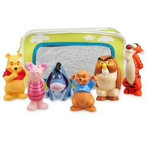 【Disney】 Disney baby ディズニーベビー くまのプーさんと仲間たち バストイセット Winnie the Pooh and Pals Bath Toy Set for Baby  ...