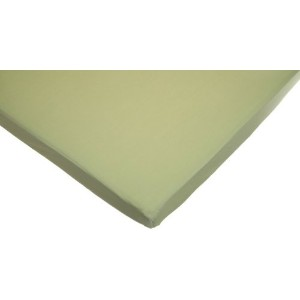 American Baby Company 100% Cotton Value Jersey Knit Fitted Portable/Mini Sheet (3, Celery) by...