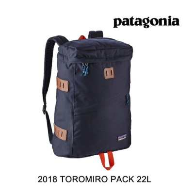 2018 PATAGONIA パタゴニア バックパック TOROMIRO PACK 22L NPTR NAVY BLUE W/PAINTBRUSH RED