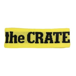THE CRATE HEAD BAND(YELLOW)クリエイト/ヘッドバンド/イエロー