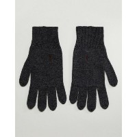 オールセインツ メンズ 手袋 アクセサリー AllSaints Fen Lambswool Blend Gloves In Charcoal Charcoal grey