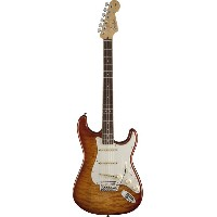 Fender USA(フェンダー)Select Stratocaster Exotic Maple Quilt Ice Tea Burst