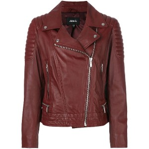Arma Taylor leather jacket - レッド