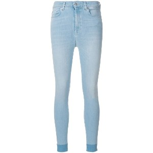 7 For All Mankind skinny fit jeans - ブルー