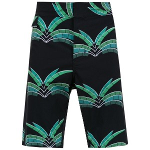 Amir Slama printed swim shorts - ブラック