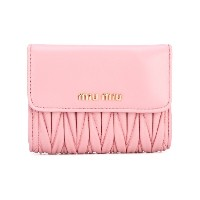 Miu Miu quilted purse - ピンク&パープル