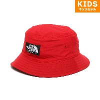 THE NORTH FACE K CAMP SIDE HAT(ザ ノースフェイス キッズ キャンプ サイド ハット)(スカーレット)18SP-I