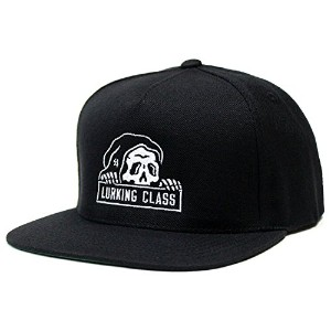 LURKING CLASS BY SKETCHY TANK - LURKING CLASS SNAPBACK スナップバック キャップ メンズ ストリート 18春 黒 56.5cm-61.5cm