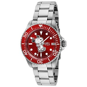 Invicta Women 's '文字コレクション' AutomaticステンレススチールDiving Watch , Color : silver-toned (モデル: 24792 )