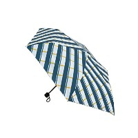 (アメメ)ameme Danke Folding umbrella DWZ-18 - ブルーストライプ